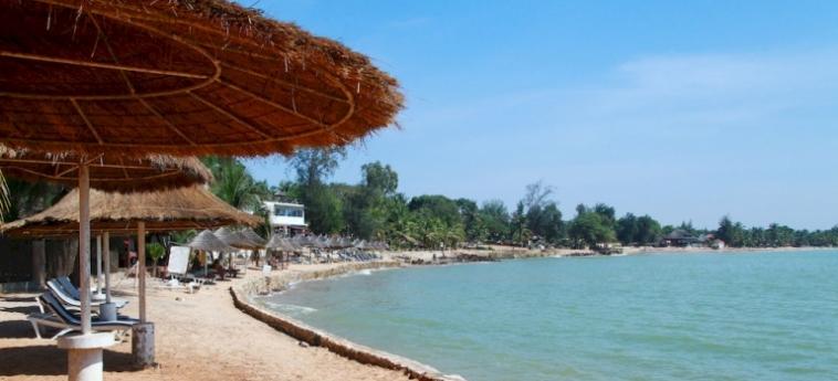Hotel Les Bougainvillees Saly Senegal: Theatre MBOUR
