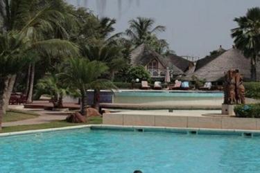 La Teranga Hotel & Villas Saly: Außenschwimmbad MBOUR