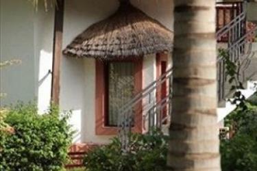 La Teranga Hotel & Villas Saly: Parkplatz MBOUR