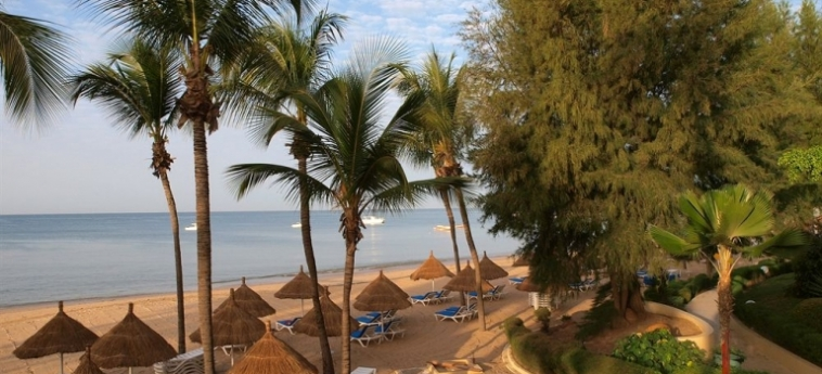 Hotel Palm Beach: Spiaggia MBOUR