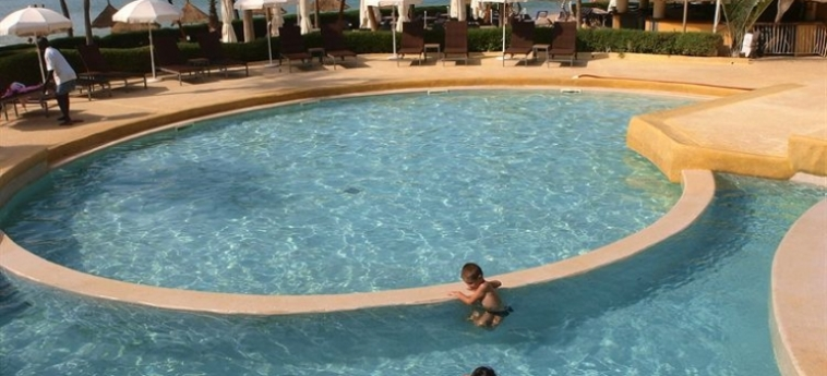 Hotel Palm Beach: Parc MBOUR