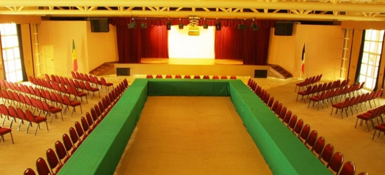 Hotel Palm Beach: Salle de Petit Dejeuner MBOUR