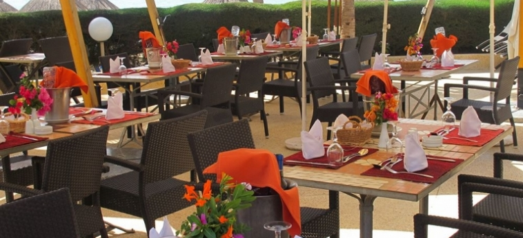 Hotel Palm Beach: Restaurant MBOUR