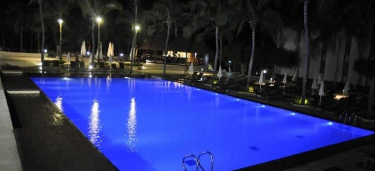 Hotel Palm Beach: Wintergarten MBOUR