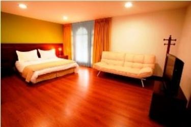 Hotel Portales Del Campestre: Schlafzimmer MEDELLIN