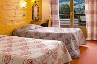 Hotel Vacances Bleues Les Chalets Du Prariand: Parqueadero MEGEVE