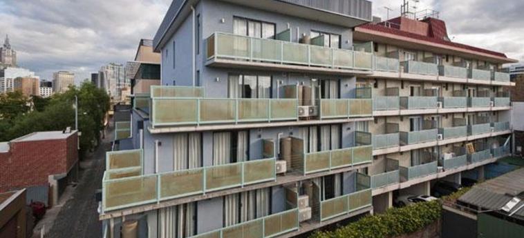 Hotel Comfort Inn Lygon Lodge: Außen MELBOURNE - VICTORIA