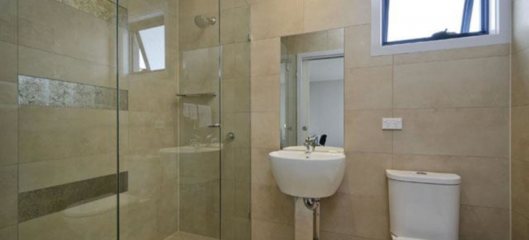 Hotel Comfort Inn Lygon Lodge: Badezimmer MELBOURNE - VICTORIA
