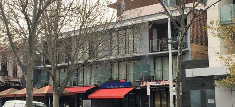 Hotel Comfort Inn Lygon Lodge: Hotel Davor-Abend/Nacht MELBOURNE - VICTORIA