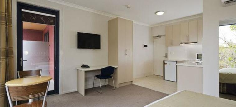 Hotel Comfort Inn Lygon Lodge: Gastzimmer Blick MELBOURNE - VICTORIA