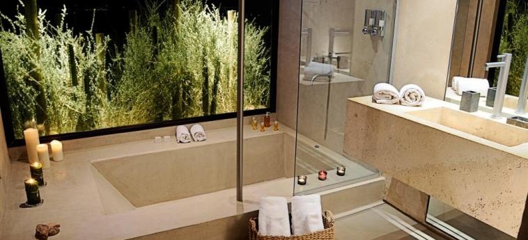 Hotel Alpasion Lodge: Doccia in bagno MENDOZA