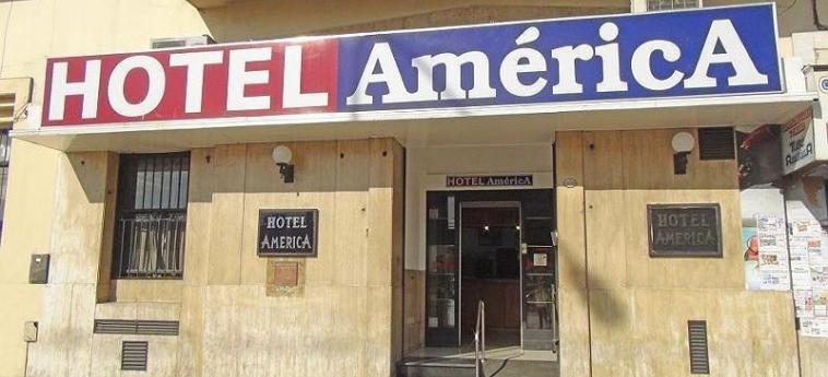 Hotel America: Eingang MENDOZA