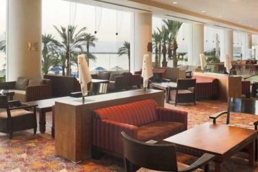 Hotel Crowne Plaza: Lobby MER MORTE