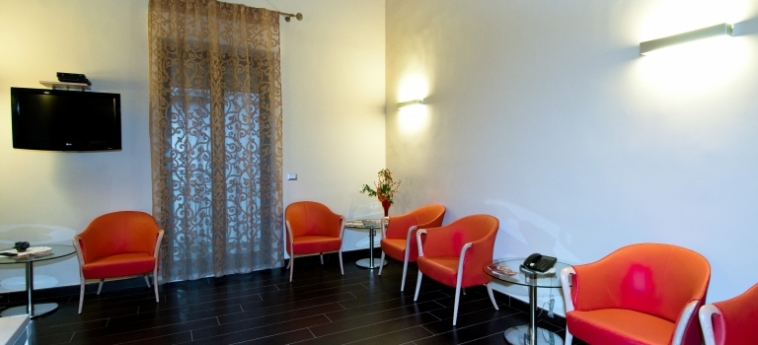 Hotel Residence Empedocle: Hall MESSINA