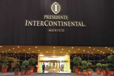 Hotel Intercontinental Presidente Mexico City: Exterior MEXICO CITY