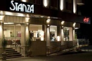 Hotel Stanza: Entrance MEXICO CITY