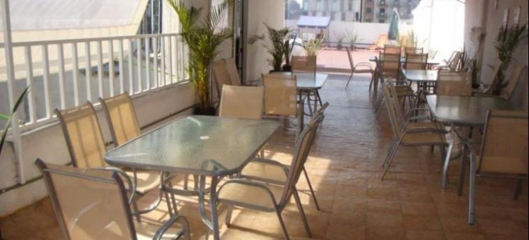 Hostel Amigo: Frühstücksraum MEXICO STADT