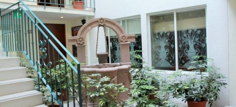 Hotel Suites Aristoteles: Appartement MEXICO STADT