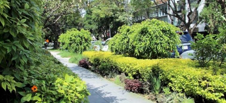 Hotel Suites Aristoteles: Außenschwimmbad MEXICO STADT