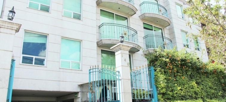 Hotel Suites Aristoteles: Badezimmer - Suite MEXICO STADT