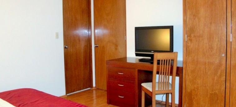 Hotel Suites Aristoteles: Balcony MEXICO STADT