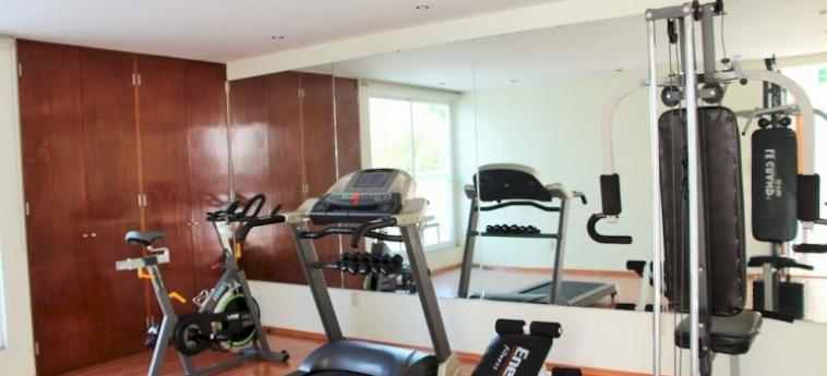 Hotel Suites Aristoteles: Hall MEXICO STADT