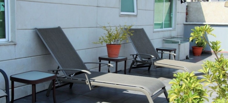 Hotel Suites Aristoteles: Schreibtisch MEXICO STADT
