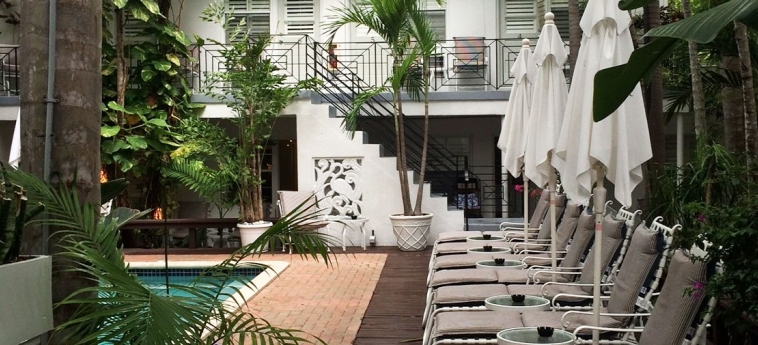Hotel Sobe You Bed & Breakfast: Solarium MIAMI BEACH (FL)