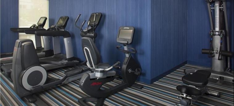 Hotel Aloft Miami Brickell: Salle de Gym MIAMI (FL)