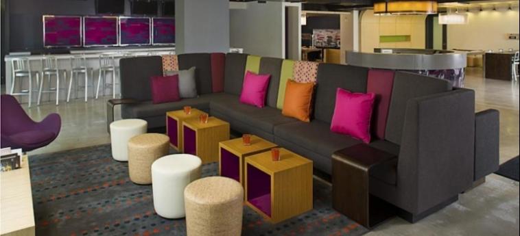 Hotel Aloft Miami Brickell: Lounge MIAMI (FL)