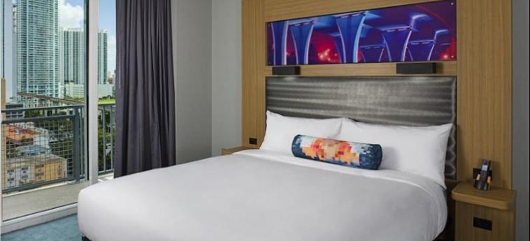 Hotel Aloft Miami Brickell: Schlafzimmer MIAMI (FL)