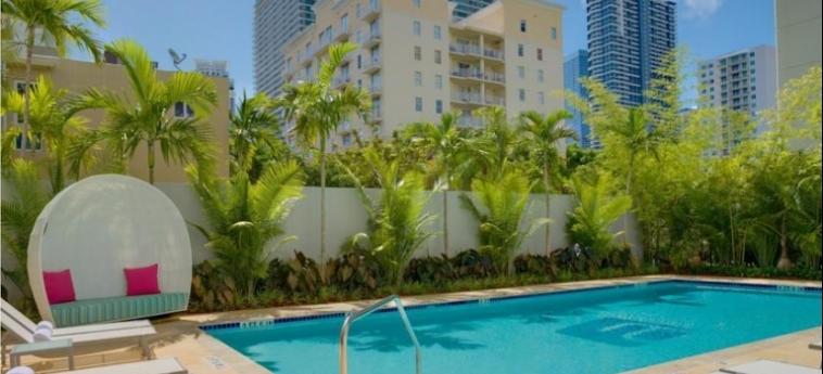 Hotel Aloft Miami Brickell: Swimming Pool MIAMI (FL)