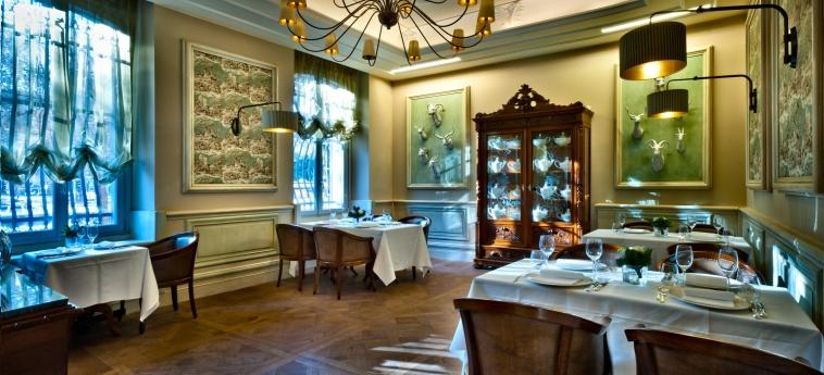 Hotel Chateau Monfort: Restaurant MILAN