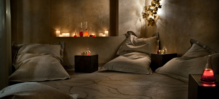 Hotel Chateau Monfort: Salle Relax MILAN