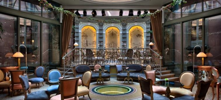 Hotel Chateau Monfort: Salon MILAN