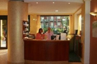 Hotel Des Bains: Recepción MILANO MARITTIMA - RAVENNA