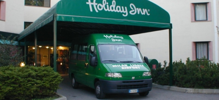 Hotel Holiday Inn Milan Linate Airport: Particolare dell'Hotel MILANO