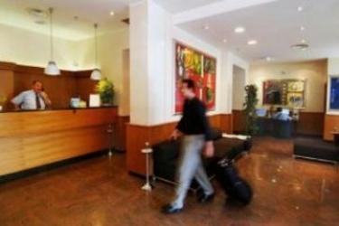 Hotel Bernina: Reception MILANO