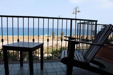 Hotel Esperia: Vista dal balcone MILAZZO - MESSINA