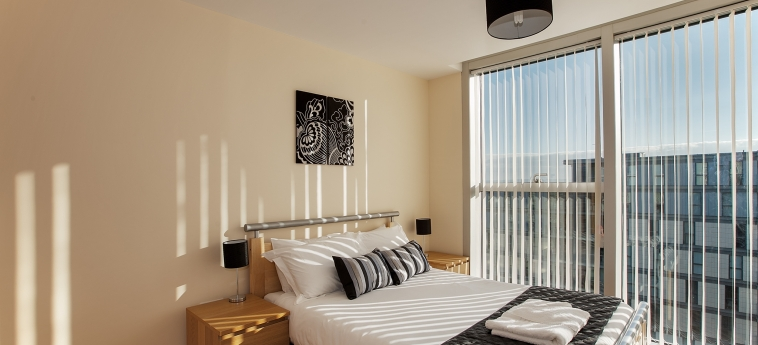 The Hub Serviced Apartments – Shortstay Mk: Camera Matrimoniale/Doppia MILTON KEYNES
