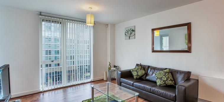 The Hub Serviced Apartments – Shortstay Mk: Sala MILTON KEYNES