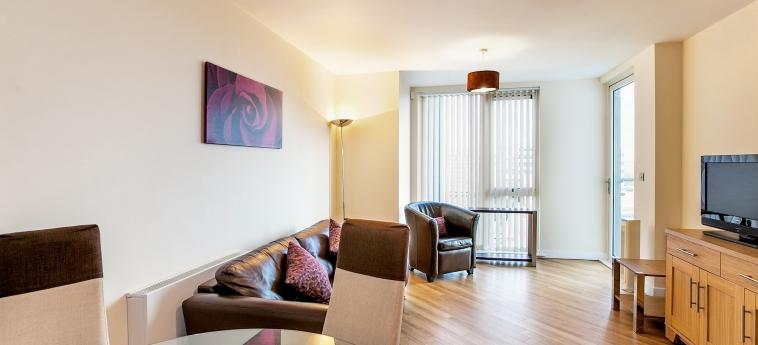 The Hub Serviced Apartments – Shortstay Mk: Apartment MILTON KEYNES