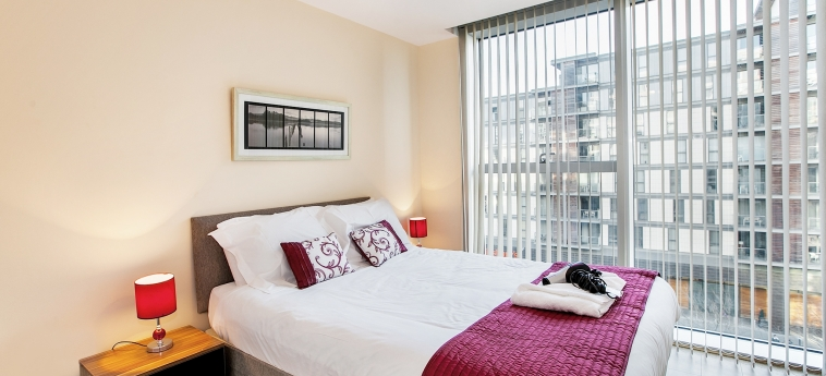 The Hub Serviced Apartments – Shortstay Mk: Chambre Double MILTON KEYNES