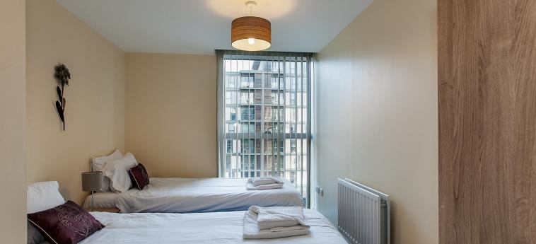 The Hub Serviced Apartments – Shortstay Mk: Chambre jumeau MILTON KEYNES