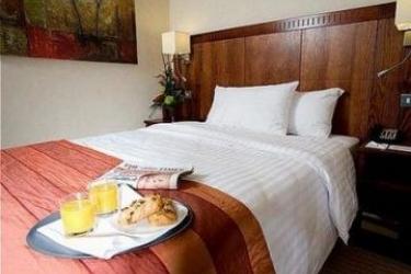 Hotel Holiday Inn Milton Keynes East M1 Jct 14: Schlafzimmer MILTON KEYNES