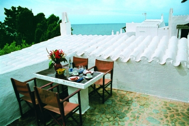 Hotel Apartamentos Hlg Binivell Park: Terrasse MINORQUE - ILES BALEARES