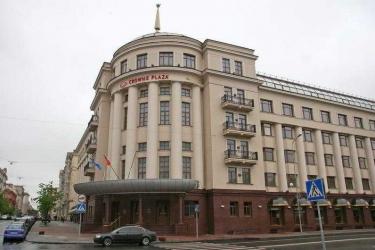 Hotel Crowne Plaza Minsk: Exterior MINSK