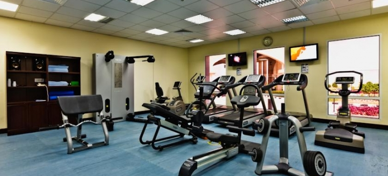 Hotel Kairaba Mirbat Resort: Salle de Gym MIRBAT