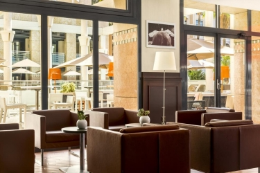 Hotel Riviera Marriott La Porte De Monaco: Lobby MONACO - MONTE CARLO