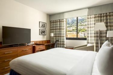Hotel Riviera Marriott La Porte De Monaco: Schlafzimmer MONACO - MONTE CARLO